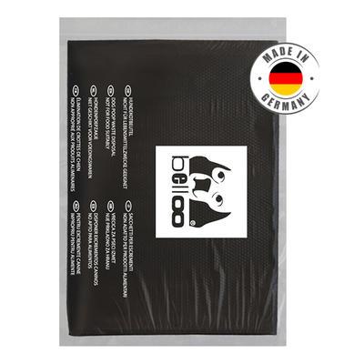 Hundekotbeutel schwarz HDPE in Folientaschen (Karton à 1500 Stück)